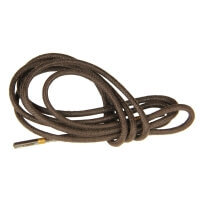 Dark Brown Round Waxed Shoe Laces