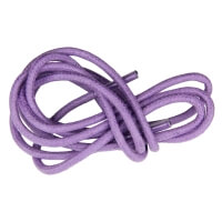 Mauve Round Waxed Shoe Laces