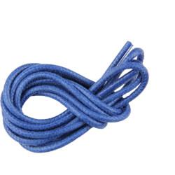 Lacets ronds cirés Bleu