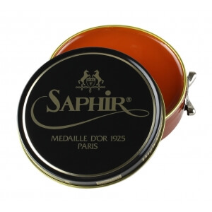 Saphir Medaille d'Or Light Brown Shoe Polish 100ml