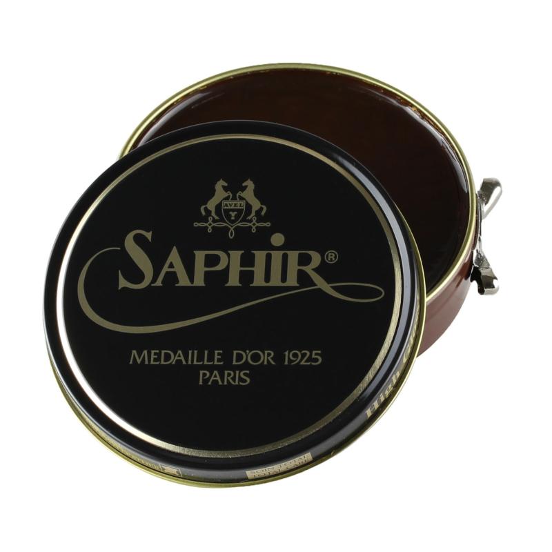 Saphir Medaille d'Or Medium Brown Shoe Polish 100ml