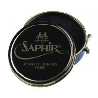 Saphir Medaille d'Or Navy Blue Shoe Polish 100ml