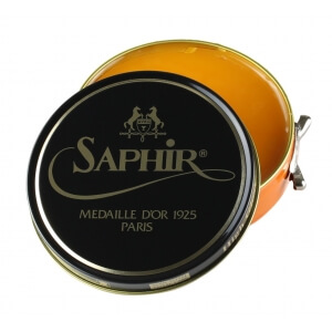 Saphir Medaille d'Or Beeswax Yellow Shoe Polish 100ml