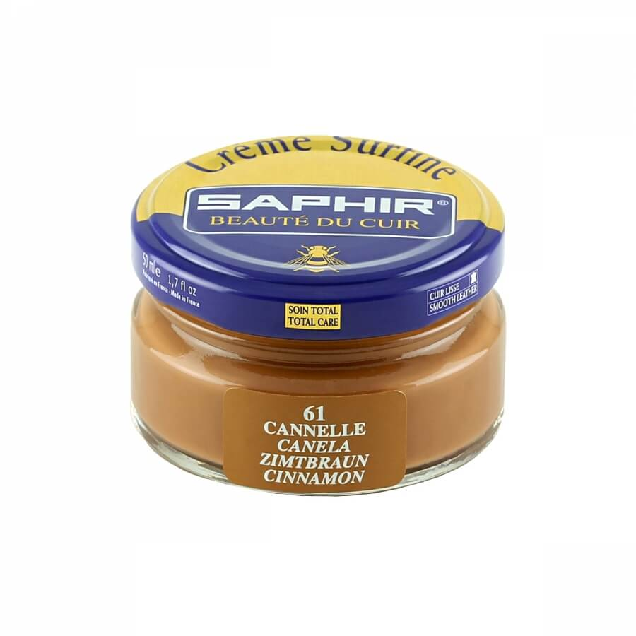 Saphir Cinnamon Brown Superfine Shoe Cream