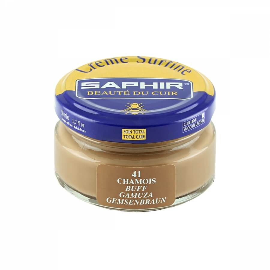 Saphir Leather Brown Superfine Shoe Cream