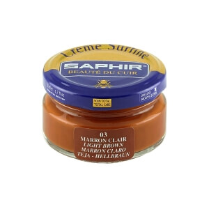 Saphir Light Brown Superfine Shoe Cream