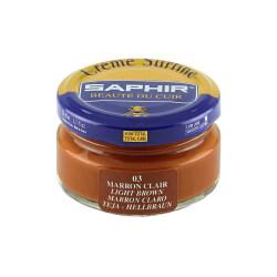 Saphir Light Brown Superfine Shoe Cream