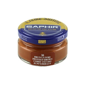 Saphir Copper Brown Superfine Shoe Cream