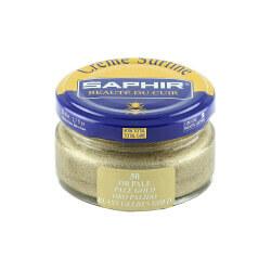Cirage or pâle SAPHIR - Crème Surfine