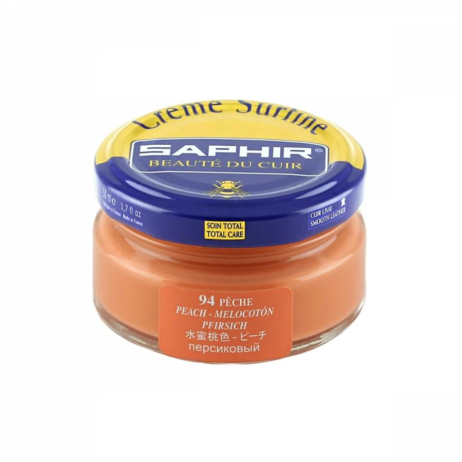 Saphir Peach Superfine Shoe Cream