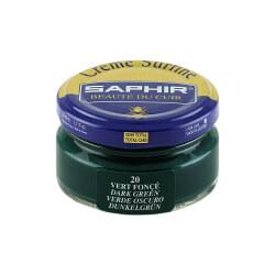Cirage vert foncé SAPHIR - Crème Surfine