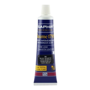 Saphir Navy Blue Deluxe Shoe Cream in a Tube