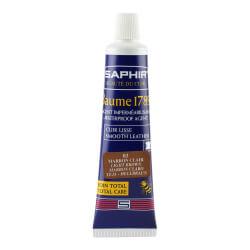 Cirage SAPHIR marron clair - crème de luxe en tube
