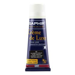 Cirage SAPHIR marron foncé - Crème de luxe en applicateur