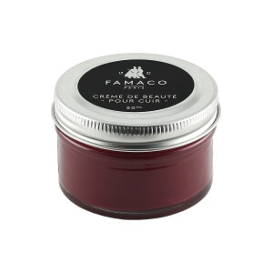 Famaco Maroon Shoe Cream