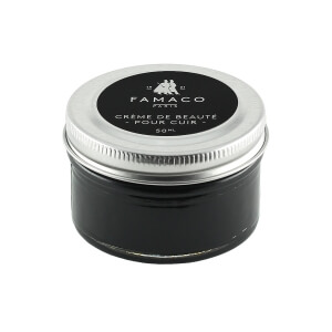 Famaco Black Shoe Cream