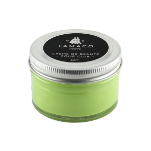 Famaco Lime Green Shoe Cream