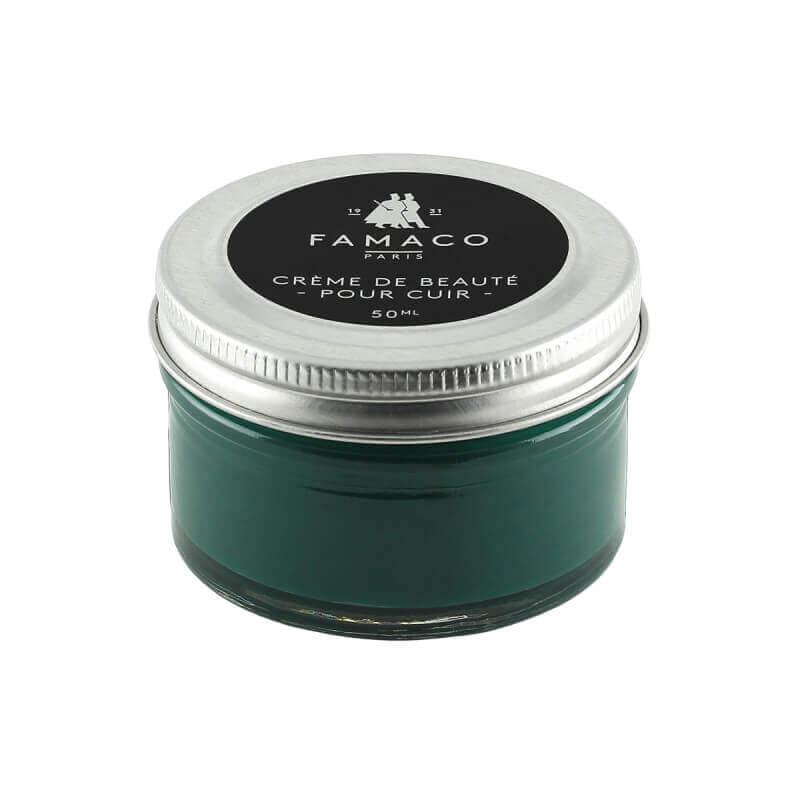 Crème de cirage FAMACO Vert thuya
