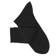 Chaussettes fil d'Ecosse noir