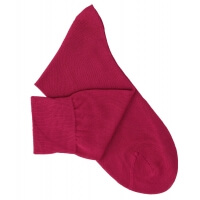 Cherry Cotton Lisle Socks