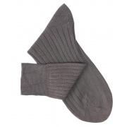 Chausssettes fil d'Ecosse gris