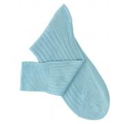 Turquoise Lisle Socks