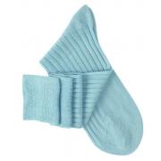 Chaussettes mi-bas turquoise