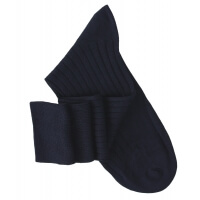 Navy Blue Knee High Socks
