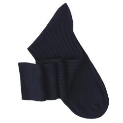 Navy Blue Knee High Socks