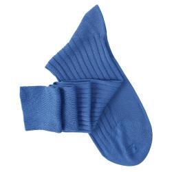 Chaussettes mi-bas bleu vif