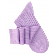 Mauve Knee High Socks