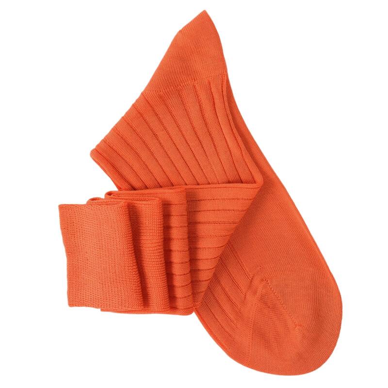 Orange Knee High Socks