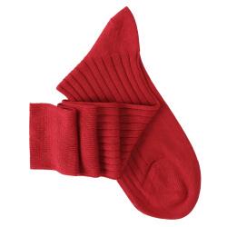 Red Knee High Socks