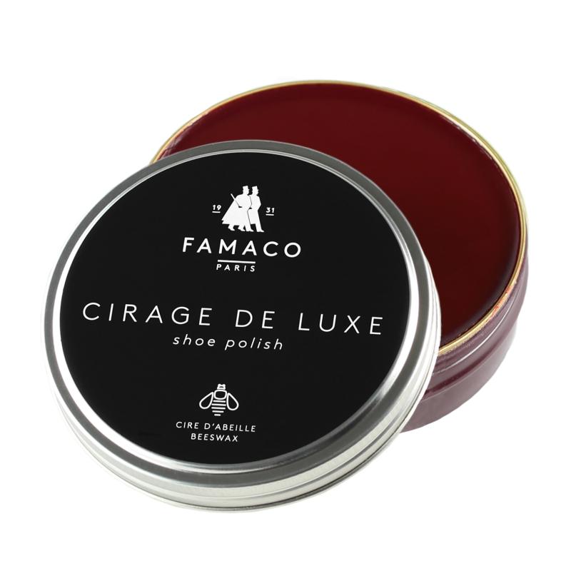 Pâte de cirage FAMACO Rouge