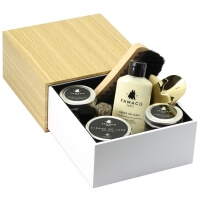 Coffret cirage Premium Blanc garni simple