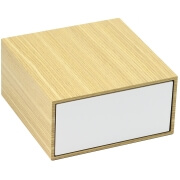 Coffret cirage Premium Blanc garni simple