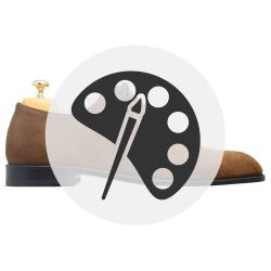 Suede Shoe Patina