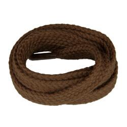 Medium Brown Flat Shoe Laces