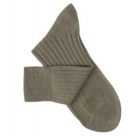 Taupe Grey Lisle Socks