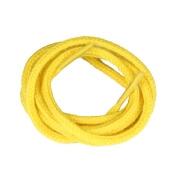 Lacets de couleur : jaune - 100% coton