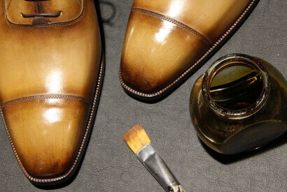 De Lauré or simply high quality shoes with a customised patina